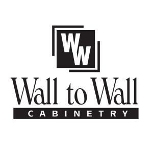 Wall To Wall Cabinetry Logo